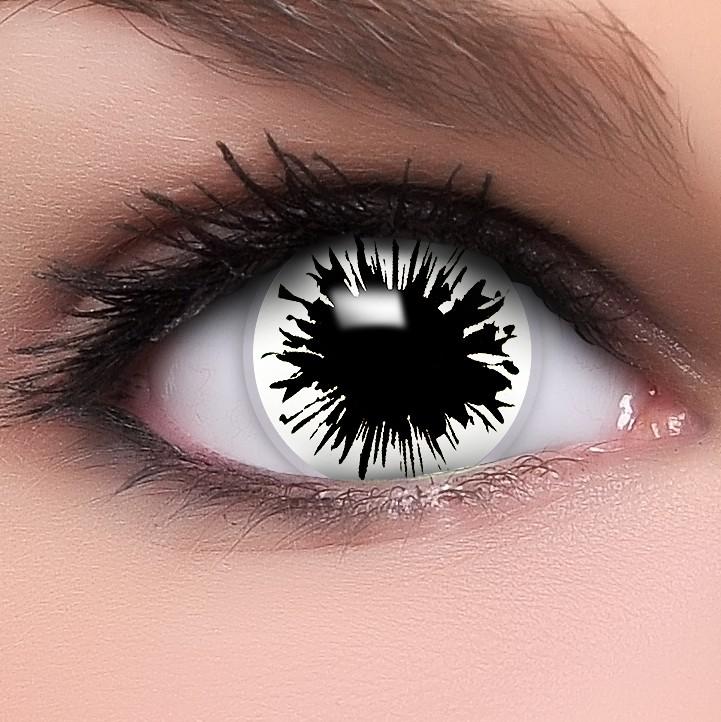 farbige kontaktlinsen wei schwarz shot beh lter. Black Bedroom Furniture Sets. Home Design Ideas