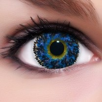 Circle Lenses Diamond Blue