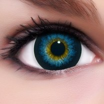 Circle Lenses Barbie Blue