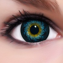 Circle Lenses Glamour Blue