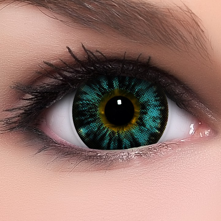 blaue circle lenses nudy blau kontaktlinsen ohne st rke. Black Bedroom Furniture Sets. Home Design Ideas