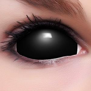 black sclera kontaktlinsen halloween karneval fun crazy bunte. Black Bedroom Furniture Sets. Home Design Ideas